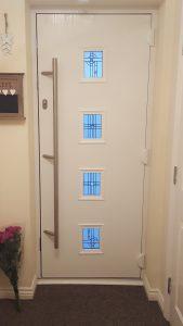 Composite door installs