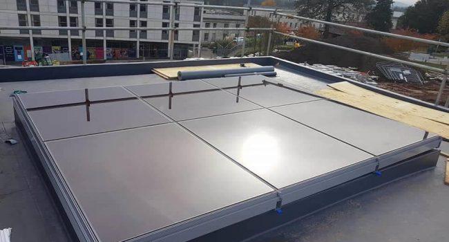 commercial alu walling solar